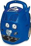 MICHELIN - Compresor de aire portátil MCX6U - Tanque de 6 litros - Sin aceite - Motor de 1,5 hp - Presión máxima 8 bar - Flujo de aire 160 l/min - 9,6 m³/h, Azul