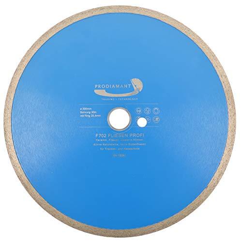 PRODIAMANT PRORIM - Disco de corte de diamante profesional (300 x 30/25,4 mm)