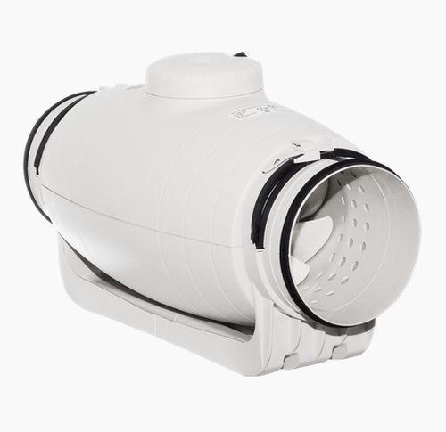 S&P TD-800/200 Silent - Ventilador de tubo insonorizado, 880/700m3
