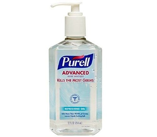 Purell Advance Gel Hand Sanitizer (Pack of 2) 12 oz Pump...