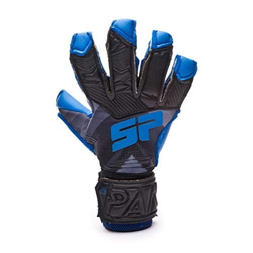 SP Fútbol Pantera Fobos Aqualove Niño, Guante de Portero, Grey-Blue, Talla 4