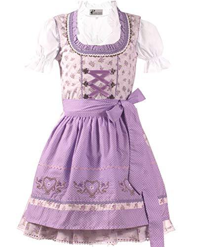 Vestido tradicional de 3 piezas. Vestido de tirolesa para niña, talla 104,116,128,140,146,152,164