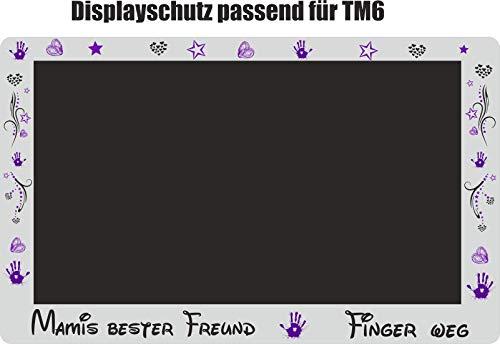 Displaybeschermfolie voor TM6 Mamis beste lila