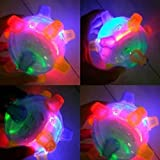 wongbey Pet Jumping Ball, Led Pets Toys Pet Ball Toy Pet LED Jumping Ball Pet Toys Light Up Balls LED Music Bouncing Toy for Dogs Cats, Interactive Ball Toy