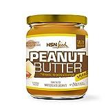 HSN Crema de Cacahuete Natural Peanut Butter Suave y Cremosa - 100% Sabor | Apto Vegetariano, Sin Grasa de Palma, Sin Grasa Trans, Sin azúcar ni Sal añadidos, 250g