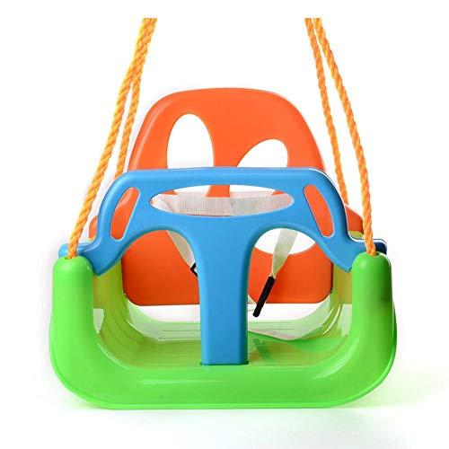 Betteros 3 en 1 columpio desmontable para niños al aire libre niños bebé silla colgante jardín columpio con reposabrazos trasero para niños, mecedora para niños