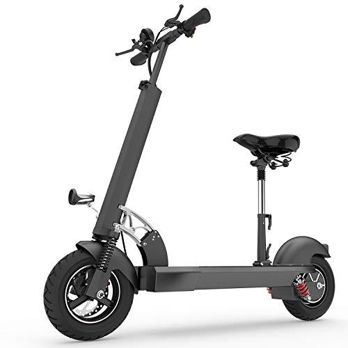 XULONG E202 Scooter eléctrico Adulto, Plegable 10 Pulgadas 1000 W Carga 200 kg...