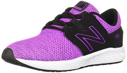 New Balance Vero Racer V1, Zapatillas para Correr para Niñas, Voltaje Violeta Negro, 30 EU