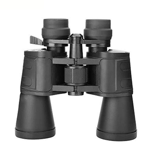 Prismáticos de Alta Potencia de 10x50 para Adultos, niños Compacto a Prueba de Agua con visión Nocturna con Poca luz Telescopio Binocular para observar Aves Caza Viajes Juegos de fútbol al Aire li