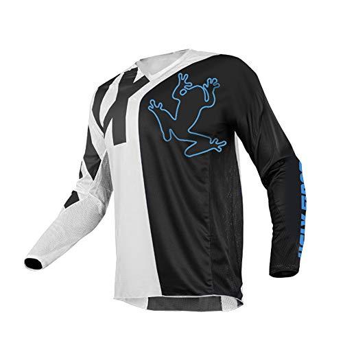 Uglyfrog SJF-CJ04 Designs Bike Wear Men's Downhill Jersey Rage MTB Top Cycle Motocross Mountain Bike Shirt Long Sleeve