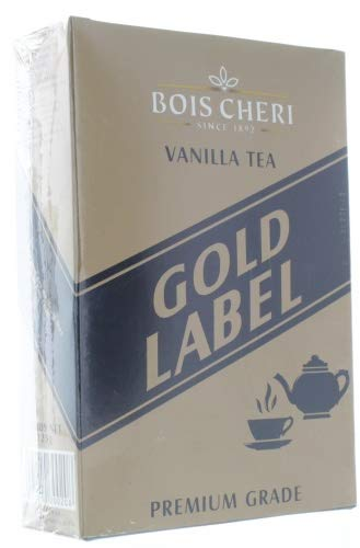 Bois Cheri Gold Label (Vanille Geschmack) 125g loser Schwarztee aus Mauritius