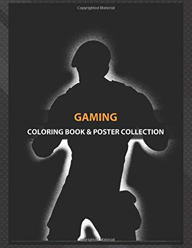 Coloring Book & Poster Collection: Gaming Army Fornite Skins Comics
