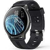 AGPTEK Smartwatch LW11, Reloj Inteligente 1.3 Pulgadas Táctil Completa IP68, Pulsera de Actividad Deportivo Pulsómetro Monitor de Sueño, Control de Musica para Hombre Mujer Adolescentes