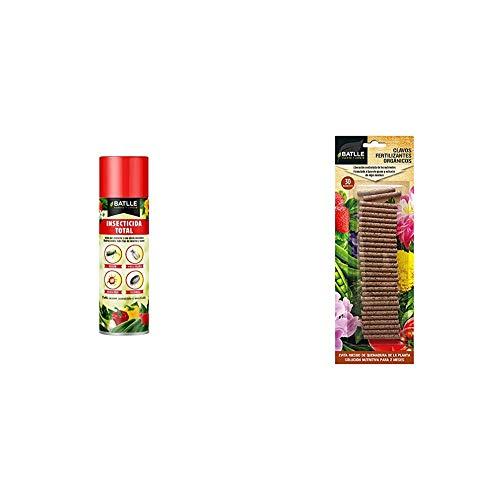 Semillas Batlle Fitosanitarios - Insecticida aeorosol, Pack de 1 x 500 ml...