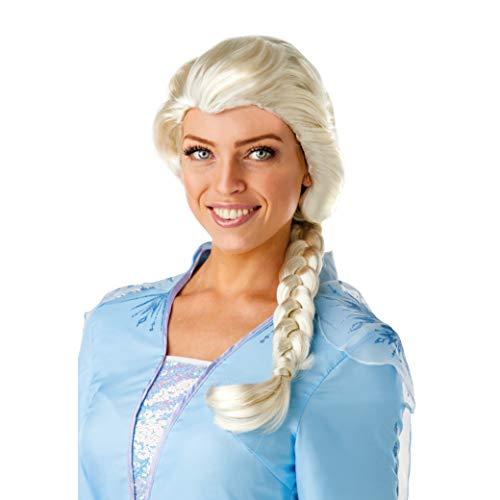 Rubie's Official Disney Frozen 2, Elsa Wig, Ladies Fancy Dress Accessory,...
