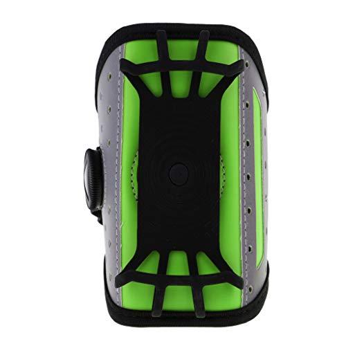 SM SunniMix Sport Fitness Armband Tasche Sportarmband Handytasche Oberarm Fitness Laufarmband - Hellblau