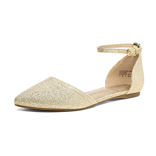 Top 10 best selling list for champagne flat shoe