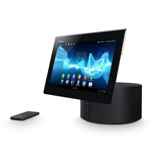 Sony SGPSPK1.EU8 Lautsprecher-Dockingstation für XPERIA Tablet S schwarz/silber