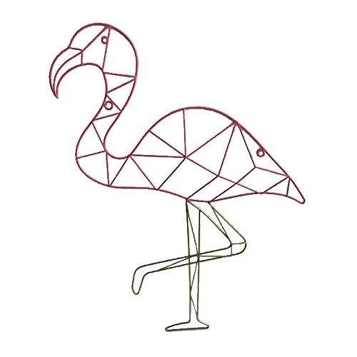 HAB & GUT Cadre Photo pêle-mêle Mural CR033- Flamant Pink 45 x 60 Fil de Fer