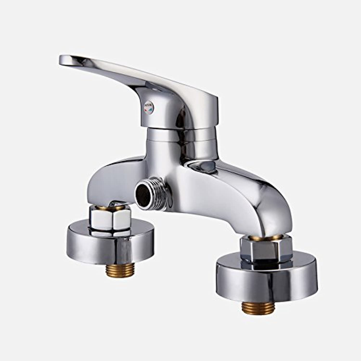 Hlluya Professional Sink Mixer Tap Kitchen Faucet The copper shower faucet ttl down shower single handle cold and hot water mixing valve shower,1306