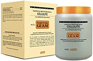 Guam Anticellulite Body Wrap, Seaweed Body Wraps for Cellulite on Legs and Thighs, Original Formula, Professional Cellulite Removal Treatment, 1000 gr   By Guam Beauty