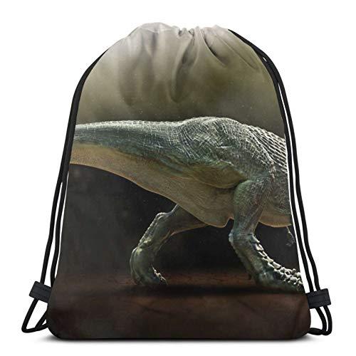 Affordable shop Mochila de dinosaurio tiranosaurio Rex con cordón, ligera, para gimnasio, viajes, yoga, informal, para senderismo, natación, playa