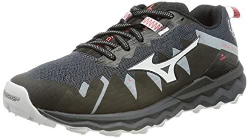 Mizuno Wave Daichi 6, Zapatillas para Carreras de montaña Mujer, India Ink/Black/Ignitionr, 28 EU
