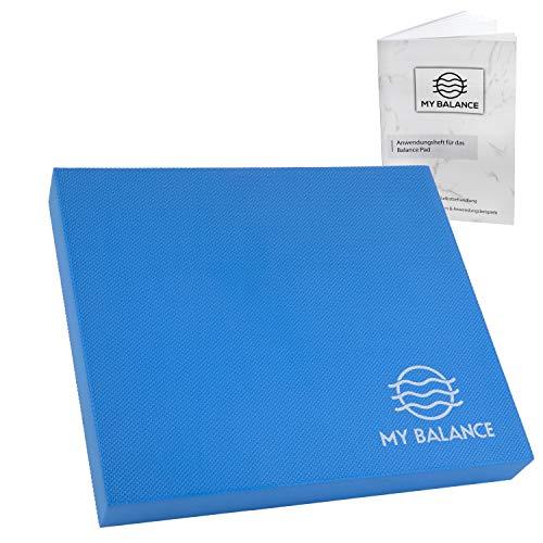 My Balance Balance Pad + GRATIS Anwendungsheft 24seitig - innovatives Balancekissen ausgezeichnet zum Ganzkörpertraining - Verbesserung deiner Koordination, Fitness & Stabilität oder zum Rehasport