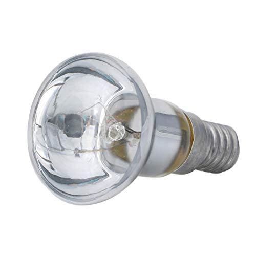 Abset 1 PCS E14 Reflektorlampe, 30W R39 Lavalampe Glühbirne Edisonbirne E14 Lichthalter R39 Reflektor Spot Glühbirne Lava Lampe Glühlampe Glühlampe