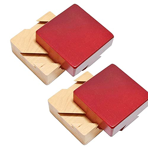 Qagazine Caja de rompecabezas Mini rompecabezas 3D Caja de bloqueo de madera con bandeja secreta para cerebro, juegos de madera regalo caja de joyería de diamante multifuncional para niños y adultos