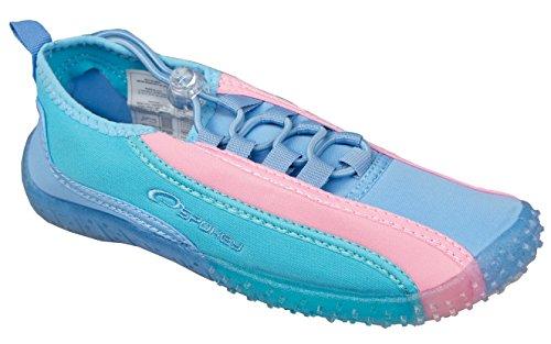 Spokey Blue Lagoon Damen Aquaschuhe Surfschuhe Badeschuhe (blau/pink, 39)