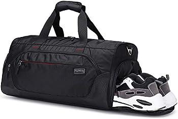 Plambag Sports Duffel Gym Bag with Wet Pocket & Shoe Compartment
