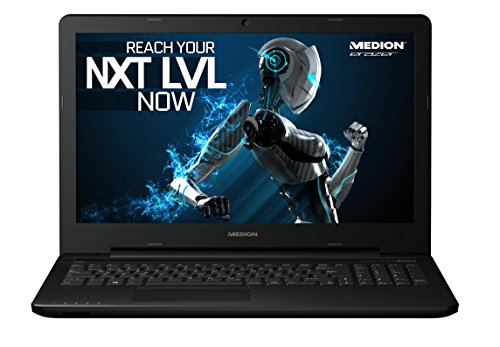 "MEDION ERAZER P7644 (MD 99650) 43,9cm 17,3"" Zoll Notebook, Intel Core i7-6500U, 2,5GHz, 8GB RAM, 1TB HDD, 256GB SSD, NVIDIA GeForce GTX 950M, schwarz"