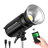 Neewer 200Ws Dimmable LED Video Light, 5600K Daylight Balanced Video Light, 21000LM Continuous Lamp with Bowens Mount...