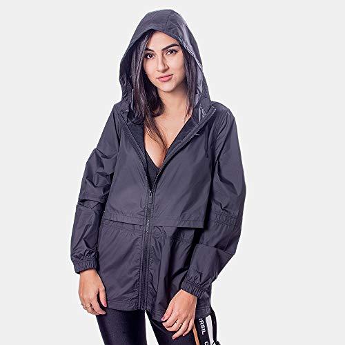 NIKE Camiseta para mujer 829747, Mujer, Chaqueta, CU3217, negro y plateado, extra-large