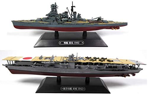 OPO 10 - Lote de 2 Buques de Guerra 1/1100: Kirishima + Akagi Pearl Harbor (T2 + T7)