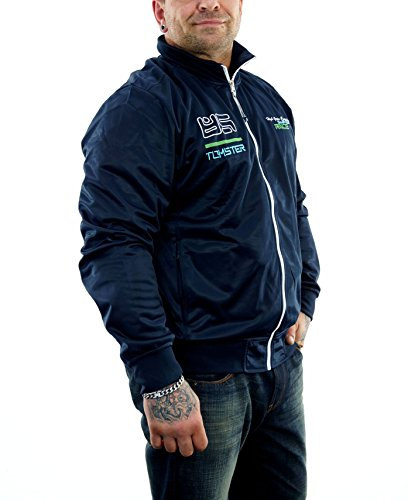 Tomster USA Sport Jacke Trainingsjacke blau (XXL)
