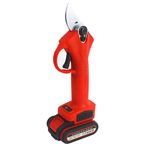 YYDD Drahtlose wiederaufladbare Schere Elektrische Schnittschere Pfropfschere Elektrogeräte und Handwerkzeuge Haarschneidemaschine Gartenschnittschere 2000mah 16,8V