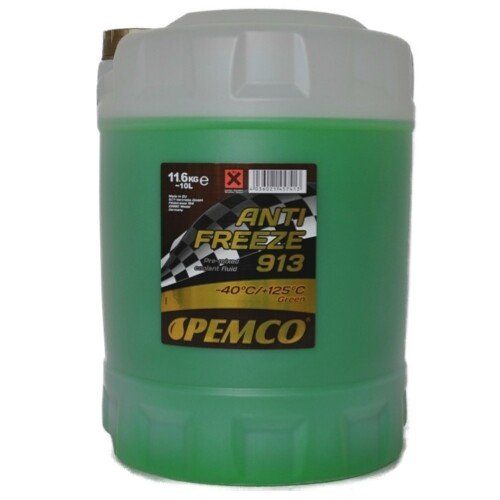 10 (1x10) Liter PEMCO ANTIFREEZE 913