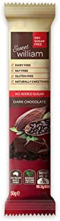 Sweet William No Added Sugar Dark Chocolate Bar 50 g