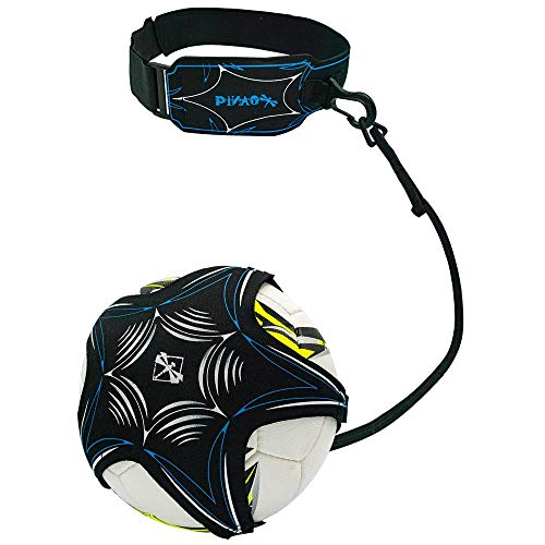 PiNAO Sports - Fußball-Trainer (24004) [Fußball, Kick Trainer, Rebounder, Schusstechnik, Balltrainer, Training, Fußballgurt, Ballannahme]
