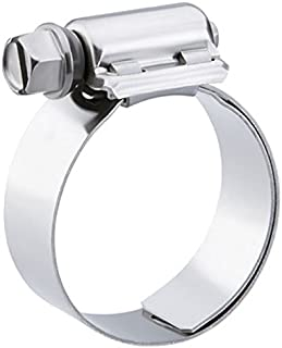 4-Pack Pro Tie 33501 SAE Size 024 Range 1-1//16-Inch-2-Inch Heavy Duty All Stainless Hose Clamp