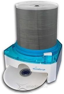 MediaRange BOX104 Housse pour CD - Housse pour CD (Bleu, 100 disques)
