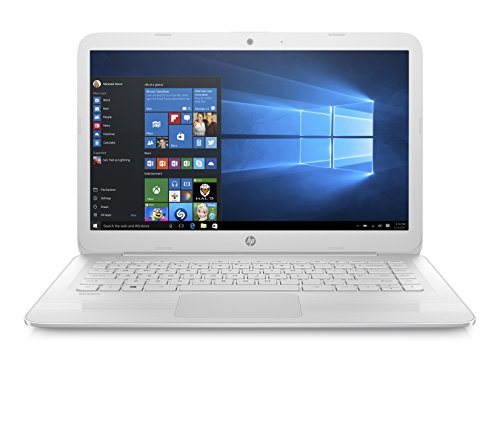 HP Stream 14-ax021nl Notebook Pc, Intel Celeron N3060, Ram 4 GB, eMMC da 64 GB, Bianco Neve