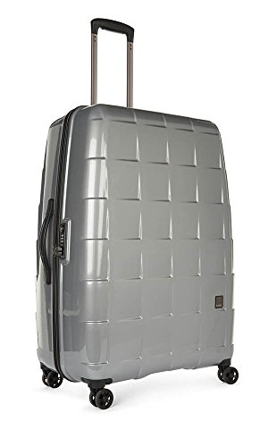 Antler Camden Large, 4 Wheel Spinner Suitcase, 79 cm, 112 liters, Silver