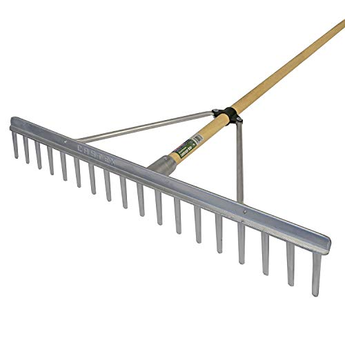 Faithfull Aluminium Landscape Rake C/W Handle