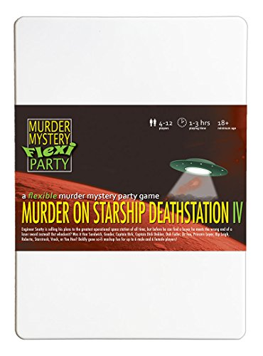 Murder on Starship Deathstation IV Remastered Murder Mystery Flexi Party 4-12 Player