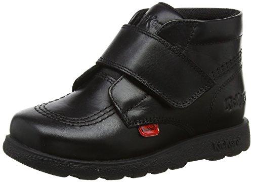 Kickers Unisex Baby Fragma Strap Stiefel, Schwarz (Black Black), 26 EU