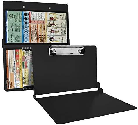 Black Nursing Clipboard Foldable Lightweight Aluminum Construction Nurse clipboard are Suitable product image