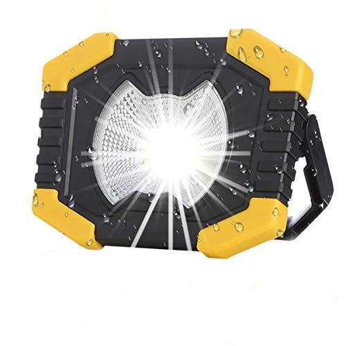 No/Brand Solarenergie 180 Grad verstellbare tragbare Laternen Eingebaute 2400mAh Batterielampe USB wiederaufladbarer Suchscheinwerfer für Camping